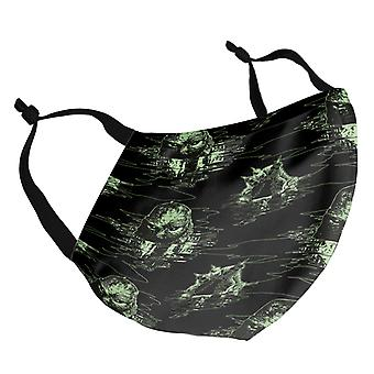Creature From The Black Lagoon Emerging Adult Reusable Fabric Face Mask