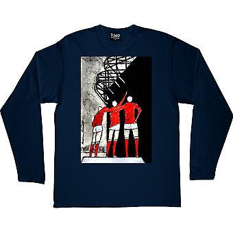 Hadrian Richards United Trinity Navy Sininen Pitkähihainen t-paita