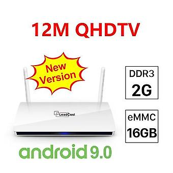 4k Qhdtv-smart Tv Box Android 9.0 S905w Quad-core-2g-16g-support 2.4g Wifi 1g 8g Android Set Top Box