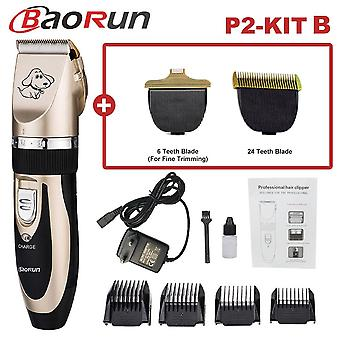 Professional Pet Dog Hair Trimmer Animal Grooming Clippers Cat Cutter Machine Shaver Electric Scissor Clipper