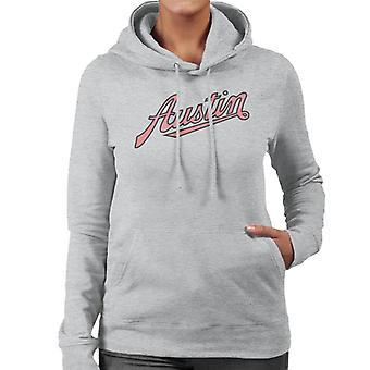 Austin Vintage Logo British Motor Heritage Women's Hooded Sweatshirt