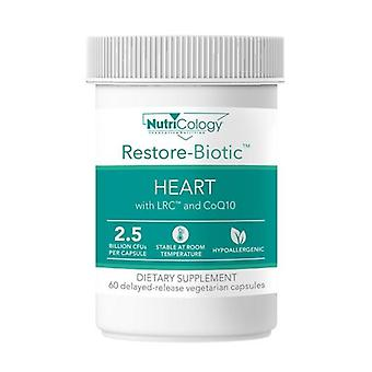 Nutricology Restore Biotic Heart, Delayed-Release 60 Veg Caps