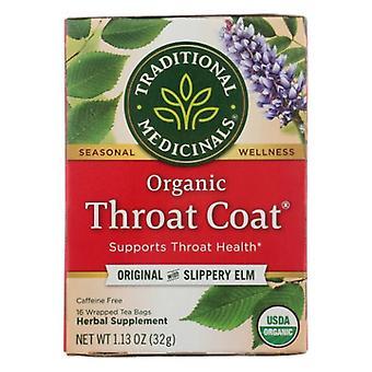 Traditional Medicinals Teas Organic Throat Coat Tea, 16 Bags