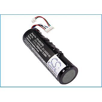 Battery for Garmin 010-10806-0 361-00029-00 DC20 DC30 DC40 Tracking DC 20 2600mA
