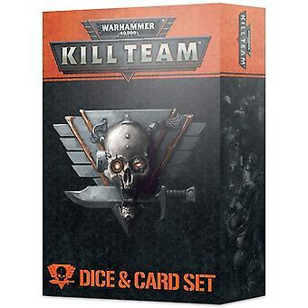 Spiele Workshop Warhammer 40K Kill Team Würfel & Karten-Set