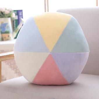 Cloud Star Moon Rainbow Pute / Rund form / Fylt Myk Ball Pute Pute