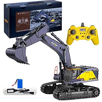 Big Size 1:14 1592 Rc Alloy Excavator- 22ch Big Rc Trucks Simulation Excavator,
