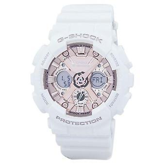 Casio G-shock Shock Resistant World Time Analog Digital Gma-s120mf-7a2 Gmas120mf-7a2 Women's Watch