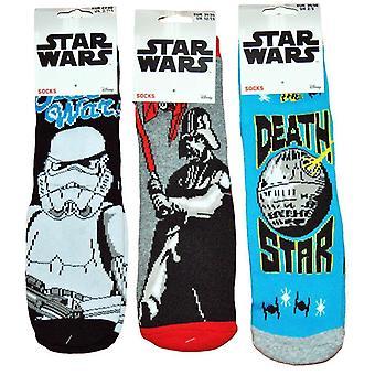 1 par star wars tykke slip sokker