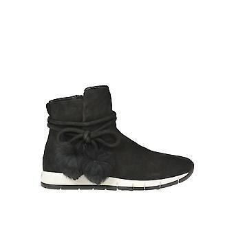 Altraofficina Ezgl575005 Women's Stivali alla caviglia in suede nero