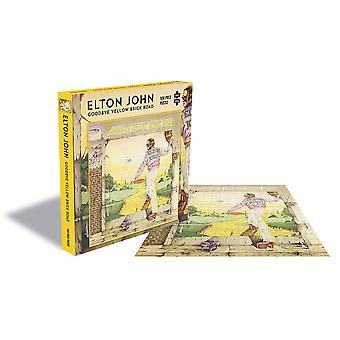 Elton john - goodbye yellow brick road album omslag 500pc pussel