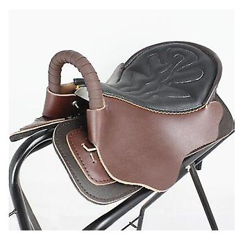 Saddle Full Harness Kraft Tourists Pony Knight Equestrian Leather Jumping Horse