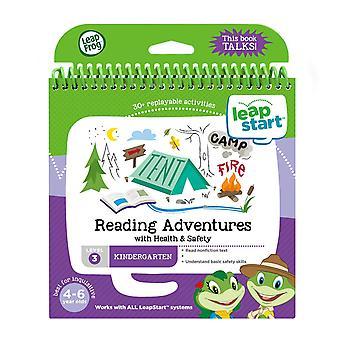 Leapfrog 21609 leapstart receptie lezen avonturen en gezondheid en veiligheid activiteit boek geweldige advertentie