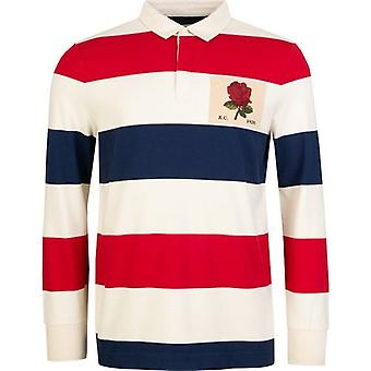 Kent And Curwen Stanley Striped Rugby Shirt