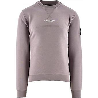 Marshall Artist Purple Siren Crewneck 420 Sweatshirt