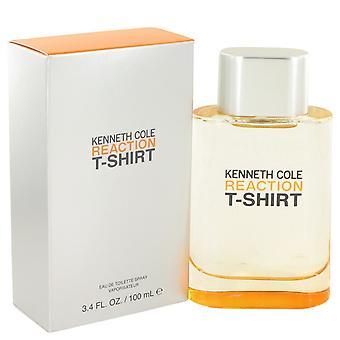 Kenneth Cole Reaction T-Shirt by Kenneth Cole Eau De Toilette Spray 3.4 oz / 100 ml (Men)