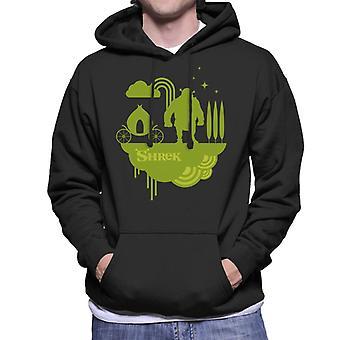 Shrek Silhouette Mænd's Hættetrøje