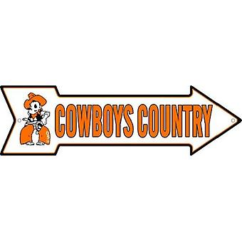 Oklahoma State Cowboys NCAA Cowboys Country Arrow Sign