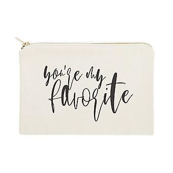 You're My Favorite- Cosmetic Bag