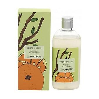 Orange and licorice bath shower 250 ml