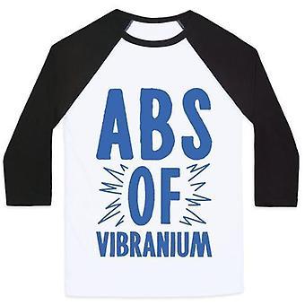Abs of vibranium parody unisex classic baseball tee