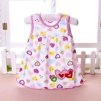 Verano Bebé Moda Infantil Algodón Vestidos
