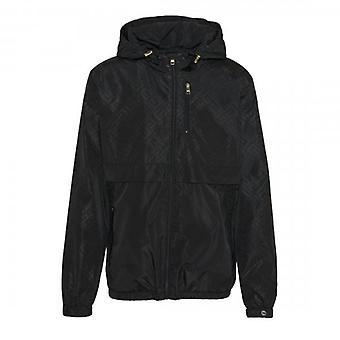 Glorious Gangsta Regio Black Windbreaker Lightweight Jacket