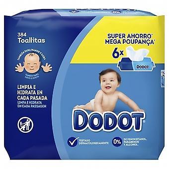 Dodot Babyfeuchttücher 6x64 Einheiten