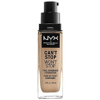 NYX  Can't Stop Won't Stop full coverage Foundation soft beige