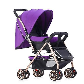 Multifunctional Luxury Baby Stroller Two-way Trolley