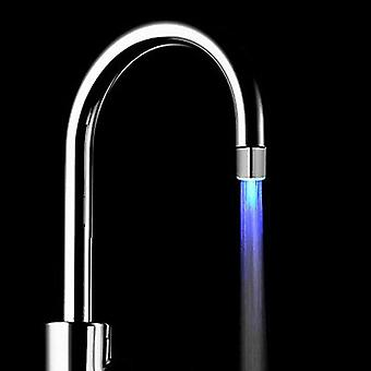 Свет-вверх Led Вода Faucet Изменение Glow Кухня Душ