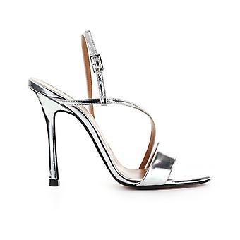 Marc Ellis Silver Mirror Sandal