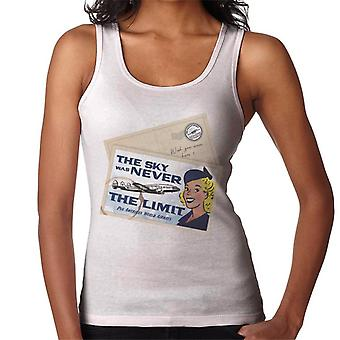 Pan Am The Sky Was Never The Limit Women's Vest