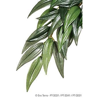 エグソテラテラシルクプラントルカス、ミディアム(爬虫類、装飾、人工植物)