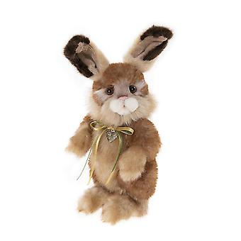 "Charlie Bears Chick Pea - 8"" - Plush Secret Collection Bunny Rabbit"