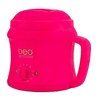 Calentador DEO con 10 ajustes para crema caliente y lociones de cera caliente - Rosa - 500cc