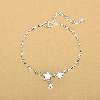 Zilveren Enkelbanden 925 Fashion Silver Jewelry Star Enkelband