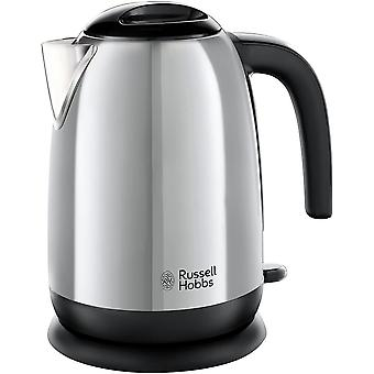 DZK 23911 Adventure Polished Stainless Steel Electric Kettle Open Handle, 3000 W, 1.7 Litre