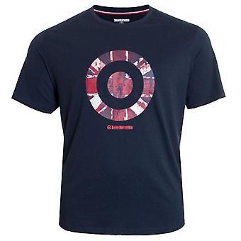 Lambretta Vintage Target T-Shirt - Navy