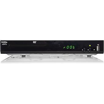 FengChun HSD 8470 HDMI MPEG4 DVD-Player (USB 2.0, Mediaplayer, 1080p Upscaling, MultiROM) schwarz