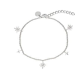 """OELANI - Women's bracelet in silver 925 with zircons, """"Stars&Moon""""(2"""
