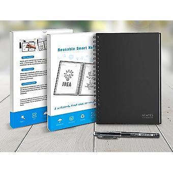 Älykäs uudelleenkäytettävä pyyhittävissä oleva spiraalivihkopaperi, Muistio Pocketbook -päiväkirja