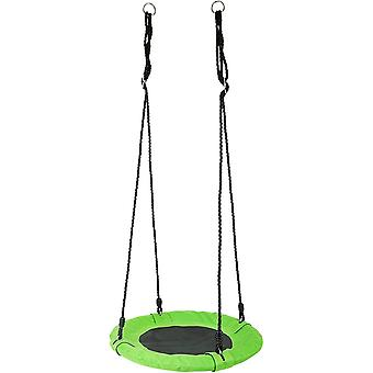 FengChun 10474 Nest Swing Sunbathing Lawn, made of tough weather-resistant material, with hanging