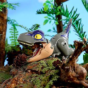 かわいいジュラシックパークワールド、変換恐竜、ディノロボットアクションフィギュア