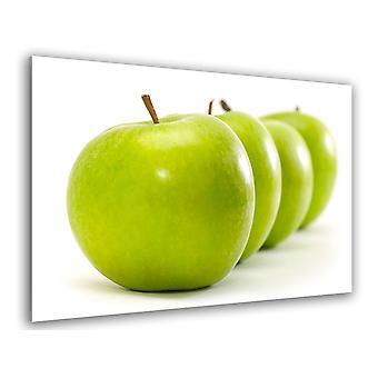 Kuchnia stołowa zielone jabłka