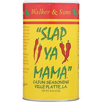 Slap Ya Mama Ssnng Bbq Orgnl Cajun, Case of 12 X 8 Oz