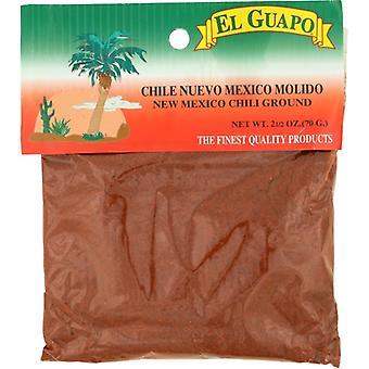 El Guapo Chili New Mex Grnd, Case of 12 X 2.5 Oz