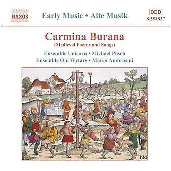Carmina Burana - Carmina Burana: Medieval Poems and Songs [CD] USA import