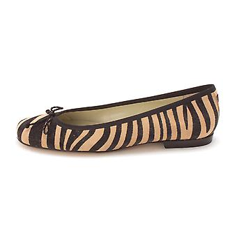 French Sole Womens Jungle Suede Closed Toe Casual Slide Sandals