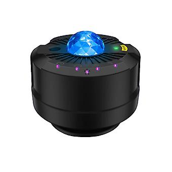 Led night moon galaxy star projector
